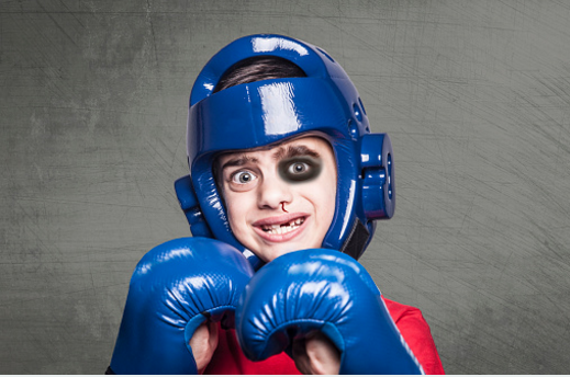 Martial Arts for kids, kickboxing